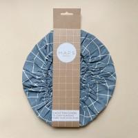 Haps Nordic - 3-pak cotton covers - ocean check