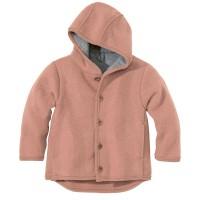 DISANA | uldjakke | kogt uld | rosé - ældre udgave
