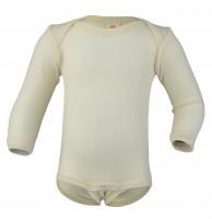 Engel - langærmet body - ren økologisk uld