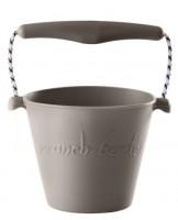 Funkit World - Scrunch-bucket - foldbar spand -Grå