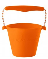 Scrunch-bucket - foldbar spand - masser af farver-orange