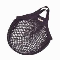 Bo Weevil - stringbag - granny´s - hæklet net - antrazitgrå