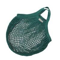 Bo Weevil - stringbag - granny´s - hæklet net - petroleumsgrøn