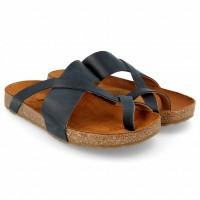Haflinger - sandaler - Bio Jack - marine