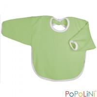 Popolini - hagesmæk - forklæde med ærmer - æblegrøn