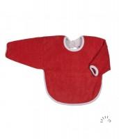 Popolini - hagesmæk - forklæde med ærmer - rød