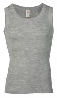 Engel - herre ærmeløs undertrøje - uld & silke - grå