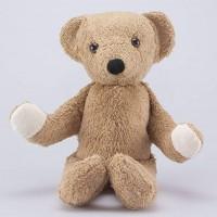 Kallisto - økologisk bamse - klassisk lysebrun bjørn - 32 cm.