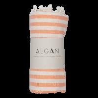 Algan - Kavun badehåndklæde - 85x180 cm. - orange