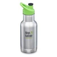 Klean Kanteen - 355 ml. med sportscap - termoflaske - stål