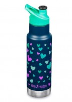 Klean Kanteen - narrow - termoflaske - 355 ml. - Navy Hearts