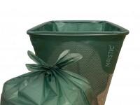 Maistic Bio Group - plastfri skraldepose - WaveCut - 30 liter - 10 stk.