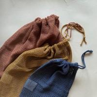 Haps Nordic - 3-pak mesh bag - netposer - frugtnet