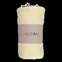 Algan - Nane badelagen - 100x180 cm. - gul