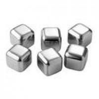 Pulito - genbrugelige stål-isterninger - 6 stk.