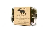 Pulito - madkasse i stål - 3-i-1