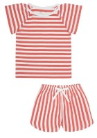 Snork Copenhagen - SELMA pyjamas - red seastripes