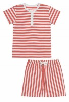 Snork Copenhagen - Wilhelm pyjamas - red seastripes