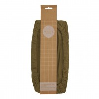 Haps Nordic - 2-pak square cotton covers - olive