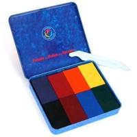 Stockmar - bivoksfarver - 8 bivoksblokke