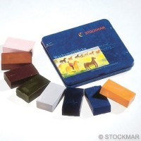 Stockmar - bivoksfarver - 8 bivoksblokke - tillægsfarver