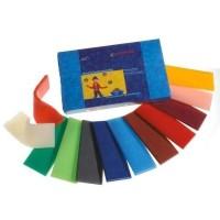 Stockmar - modeller bivoks - 12 farver