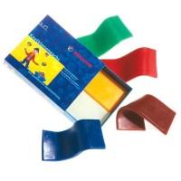Stockmar - modeller bivoks - 6 farver