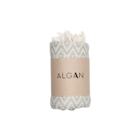 Algan - Sumak gæstehåndklæde - 65x100 cm. - ocean