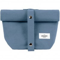 The Organic Company - lunchbag - grey blue
