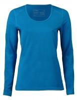 Engel Sports - langærmet t-shirt - regular fit - sky