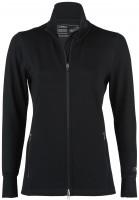 Engel Sports - dame - zip jacket - sort