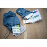 The Organic Company - brødpose - flere størrelser - grey blue