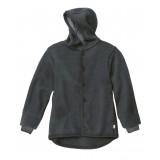 DISANA - uldjakke - kogt uld - antracitgrå
