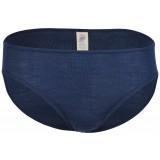 Engel - dame trusser - uld & silke - marineblå