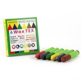 ÖkoNORM - tekstilfarver - bivoks - 6 farver