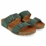 Haflinger - sandaler - Bio Andrea - grøn