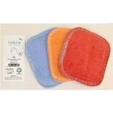 Popolini - 6 små vaskeklude - flere farver