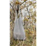 By Lohn - knitted tote bag - grey