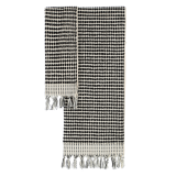 Algan - Ahududu badelagen - 90x160 cm. - sort