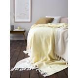 Algan - Nane gæstehåndklæde - 65x100 cm. - gul