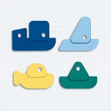 Quut - badelegetøj - både - 8 dele