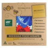Bee Wrappy - genanvendelige wraps - 2 stk. - large