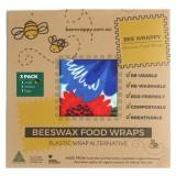 Bee Wrappy - genanvendelige wraps - 3-pak