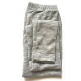 Engel - dame leggings - uld & silke - grå
