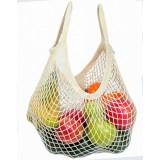 Bo Weevil - stringbag - granny´s - hæklet net - fuchsia