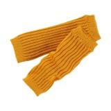 Grödo - benvarmere - børn - økologisk uld - 25 cm. - safran