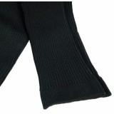 Grödo - strikkede leggings - bomuld - sort