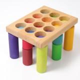 Grimms - stacking game - klassiske farver