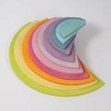 Grimms - semi circles - pastelfarver