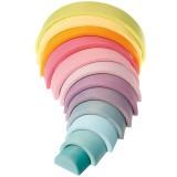 Grimms - stor regnbue - pastelfarver